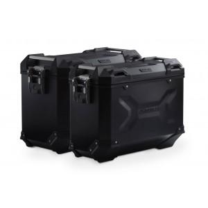 Σετ βάσεων και βαλιτσών SW-Motech TRAX ADV BMW R 1200 GS/Adv. LC 13- μαύρο