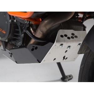 Ποδιά SW-Motech KTM 1290 Super Adventure S/R ασημί-μαύρο