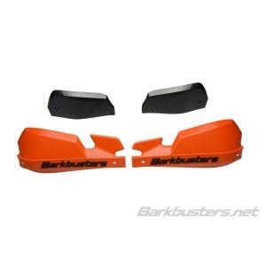 Ανταλλακτικά πλαστικά χούφτας SW-Motech Kobra και Barkbusters τύπου VPS πορτοκαλί (σετ)