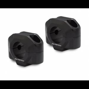 Αποστάτες τιμονιού SW-Motech 20mm Honda CB 500 X 19- μαύροι