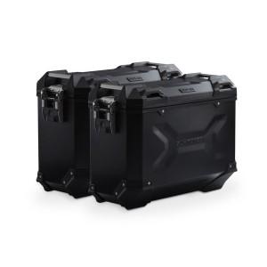 Σετ βάσεων και βαλιτσών αλουμινίου SW-Motech TRAX ADV 37 lt. Honda CB 500 F -15 μαύρο