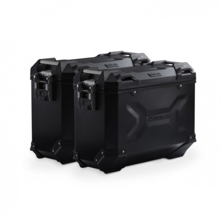 Σετ βάσεων και βαλιτσών αλουμινίου SW-Motech TRAX ADV 37 lt. Ducati Multistrada 1260/S μαύρο