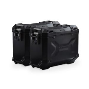 Σετ βάσεων και βαλιτσών SW-Motech TRAX ADV 37 lt. Yamaha MT-07 Tracer μαύρο