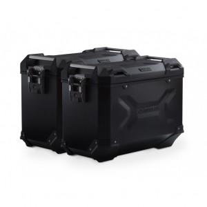 Σετ βάσεων και βαλιτσών SW-Motech TRAX ADV 45 lt. Suzuki DL 650 V-Strom 17- μαύρο