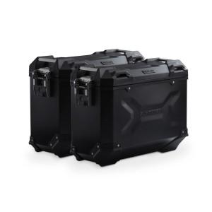 Σετ βάσεων και βαλιτσών SW-Motech TRAX ADV 37 lt. BMW F 900 R/XR μαύρο