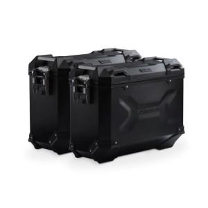 Σετ βάσεων και βαλιτσών SW-Motech TRAX ADV 37 lt. BMW S 1000 XR 20- μαύρο