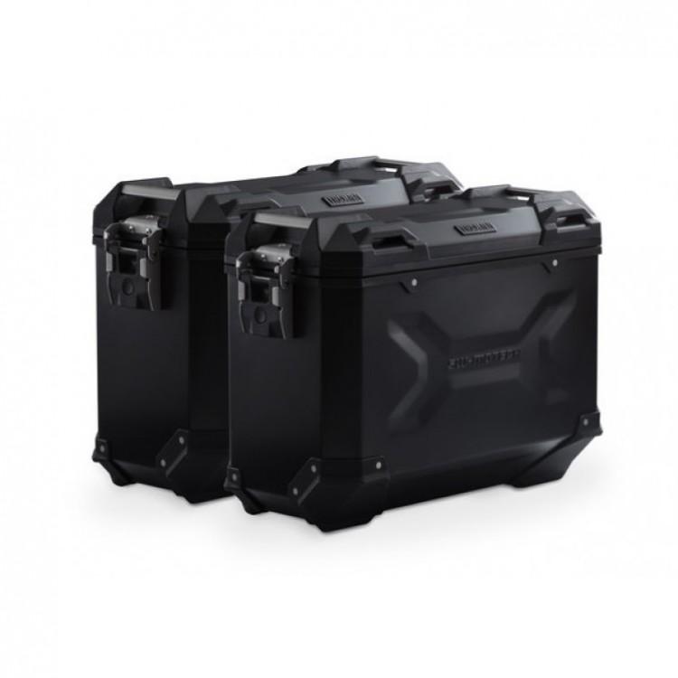 Σετ βάσεων και βαλιτσών SW-Motech TRAX ADV 37 lt. Ducati Multistrada 950/S μαύρο