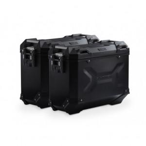 Σετ βάσεων και βαλιτσών SW-Motech TRAX ADV 37 lt. Ducati Multistrada 1200/S 15- μαύρο