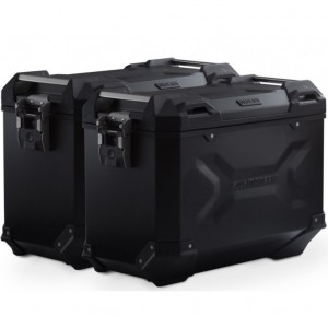 Σετ βάσεων και βαλιτσών SW-Motech TRAX ADV 45 lt. Ducati Multistrada 1200/S -14 μαύρο