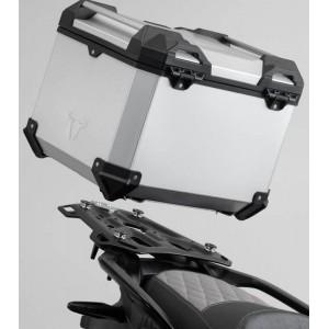 Σετ βάσης και βαλίτσας topcase SW-Motech TRAX ADV BMW R 1250 GS/Adv. ασημί