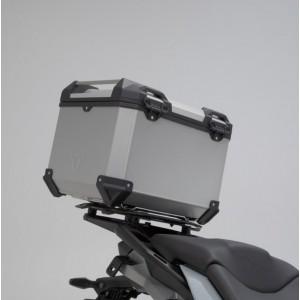 Σετ βάσης και βαλίτσας topcase SW-Motech TRAX ADV BMW S 1000 XR 20- ασημί (χωρίς BMW σχάρα)