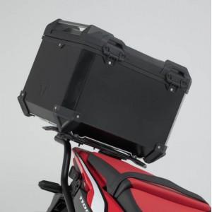 Σετ βάσης και βαλίτσας topcase SW-Motech TRAX ADV Honda CRF 1100L Africa Twin μαύρο