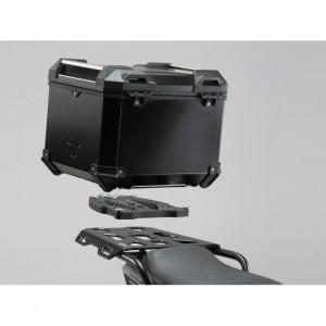 Σετ βάσης και βαλίτσας topcase SW-Motech TRAX ADV Yamaha MT-07 Tracer μαύρο