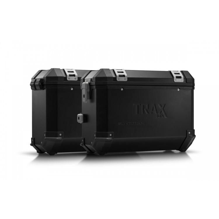 Σετ βάσεων και βαλιτσών SW-Motech TRAX ION 37 lt. Yamaha Tenere 700 μαύρο