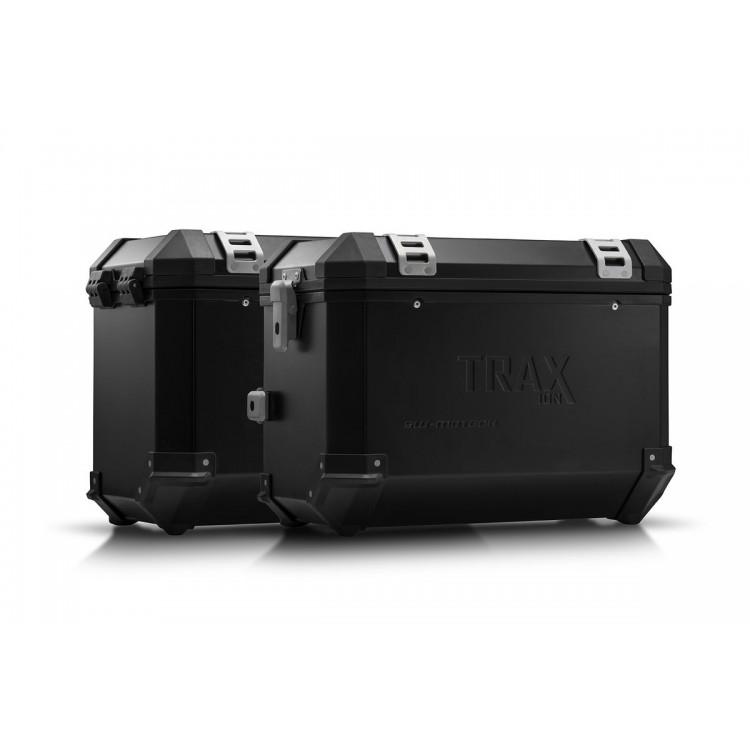 Σετ βάσεων και βαλιτσών SW-Motech TRAX ION 45 lt. Yamaha Tenere 700 μαύρο