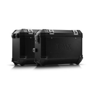 Σετ βάσεων και βαλιτσών SW-Motech TRAX ION Moto Guzzi V85 TT μαύρο