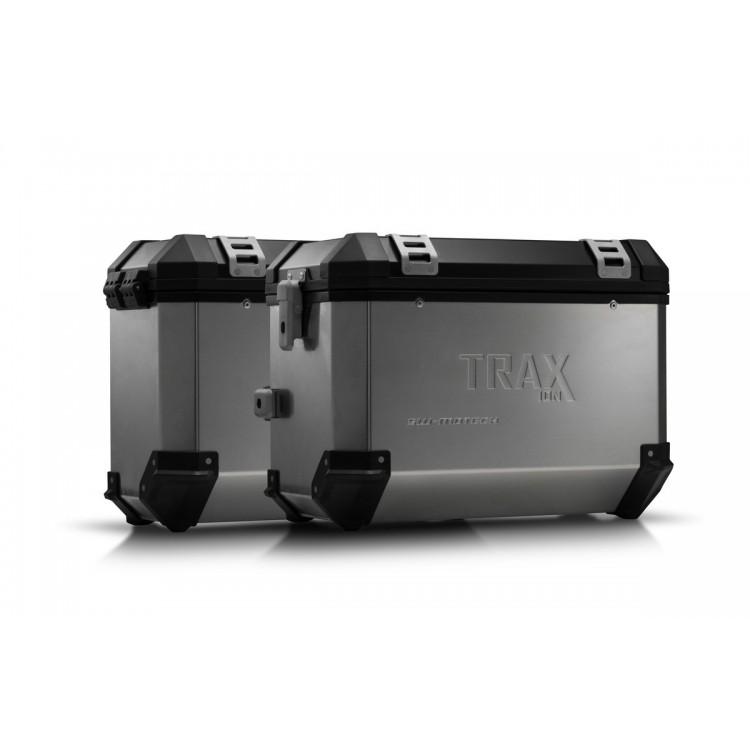 Σετ βάσεων και βαλιτσών SW-Motech TRAX ION KTM 790 Adventure/R ασημί