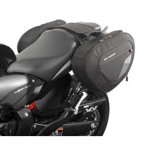 Βάσεις και σαμάρια SW-Motech Blaze 2 x 14/21 lt. Honda CB 600 F Hornet 07-13
