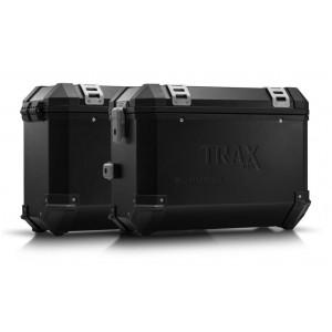 Σετ βάσεων και βαλιτσών SW-Motech TRAX ION 37 lt. Kawasaki Versys 650 10-14 μαύρο