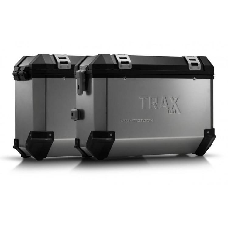 Σετ βάσεων και βαλιτσών SW-Motech TRAX ION 37 lt. Yamaha XT 660 Z Tenere ασημί
