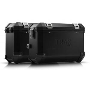 Σετ βάσεων και βαλιτσών SW-Motech TRAX ION 45 lt. Suzuki DL 650 V-Strom 17- μαύρο