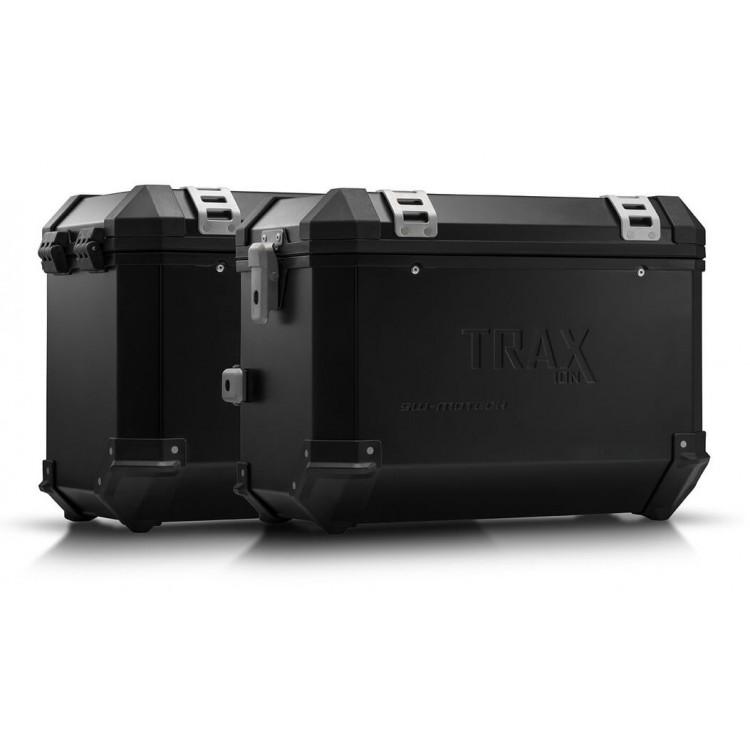 Σετ βάσεων και βαλιτσών SW-Motech TRAX ION 45 lt. Yamaha Tracer 9 μαύρο
