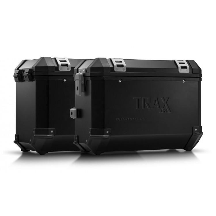 Σετ βάσεων και βαλιτσών SW-Motech TRAX ION BMW F 650-700-800 GS Twin μαύρο