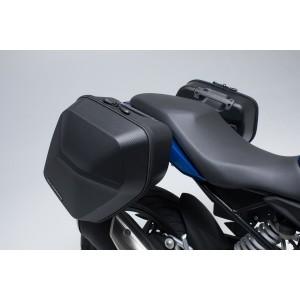 Σετ βάσεων και πλαϊνών βαλιτσών SW-Motech Urban ABS 33 lt. BMW G 310 R (σετ)