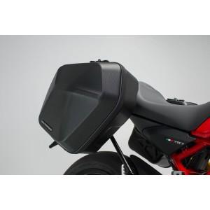 Σετ βάσεων και πλαϊνών βαλιτσών SW-Motech Urban ABS 33 lt. Ducati Monster 797 (σετ)