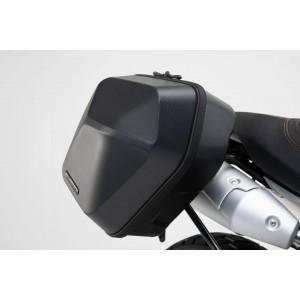 Σετ βάσεων και πλαϊνών βαλιτσών SW-Motech Urban ABS 33 lt. Ducati Scrambler 1100/Sport/Special (σετ)