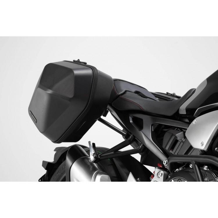 Σετ βάσεων και πλαϊνών βαλιτσών SW-Motech Urban ABS 33 lt. Honda CB 1000 R Neo Sports Cafe (σετ)