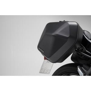 Σετ βάσεων και πλαϊνών βαλιτσών SW-Motech Urban ABS 33 lt. Kawasaki Ζ 650 (σετ)