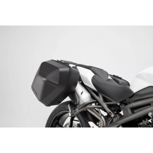 Σετ βάσεων και πλαϊνών βαλιτσών SW-Motech Urban ABS 33 lt. Triumph Speed Triple 1050/S/RS 18- (σετ)
