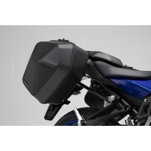 Σετ βάσεων και πλαϊνών βαλιτσών SW-Motech Urban ABS 33 lt. Yamaha MT-07 -17 (σετ)