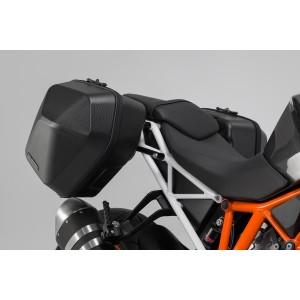 Σετ βάσεων και πλαϊνών βαλιτσών SW-Motech Urban ABS 33 lt. KTM 1290 Super Duke R 16- (σετ)
