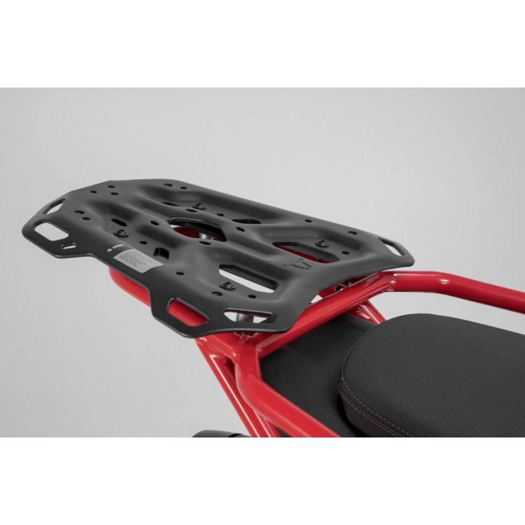 Βάση topcase SW-Motech ADVENTURE-RACK Moto Guzzi V85 TT μαύρη