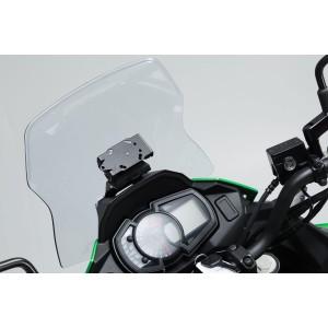 Βάση GPS Quick-Lock στα όργανα Kawasaki Versys X-300