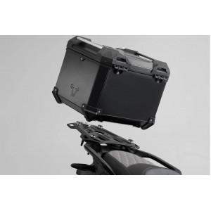 Σετ βάσης και βαλίτσας topcase SW-Motech TRAX ADV Moto Guzzi V85 TT μαύρο