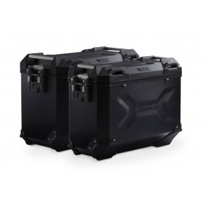 Σετ βάσεων και βαλιτσών SW-Motech TRAX ADV Moto Guzzi V85 TT μαύρο