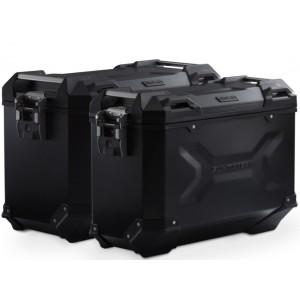 Σετ βάσεων και βαλιτσών SW-Motech TRAX ADV Honda CRF 1000L Africa Twin/Adventure Sports 18- μαύρο
