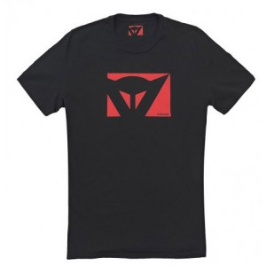 T-shirt Dainese Color new μαύρο - κόκκινο