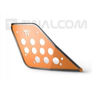 Πλαϊνά προστατευτικά ντεποζίτου Twalcom KTM 950-990 Adv. πορτοκαλί