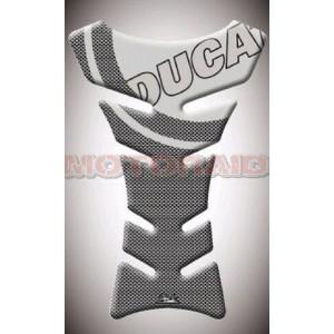 Tankpad Ducati carbon look-διάφανο