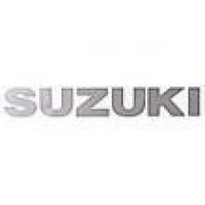 Αυτοκόλλητo Suzuki 22cm ασημί