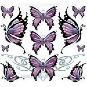 Αυτοκόλλητο σετ πεταλούδες