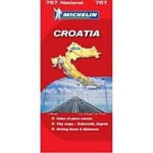 Χάρτης Κροατίας Michelin road map
