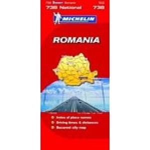 Χάρτης Ρουμανίας Michelin road map