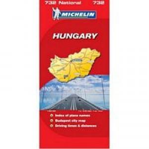 Χάρτης Ουγγαρίας Michelin road map
