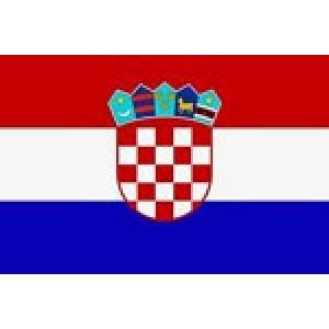 Αυτοκόλλητο σημαία Κροατίας