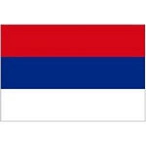 Αυτοκόλλητο σημαία Σερβίας